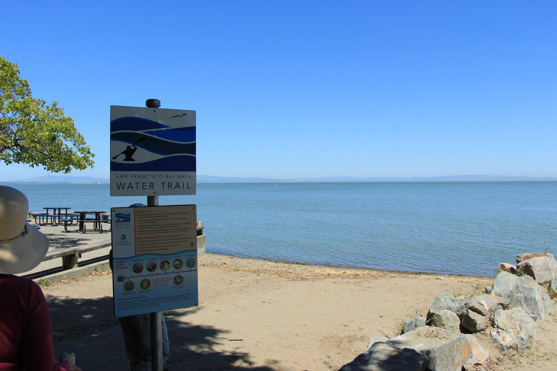 Sign: San FRancisco Bay Area Water Trail
